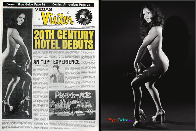 Vegas Visitor cover of stripper Suzette Summers