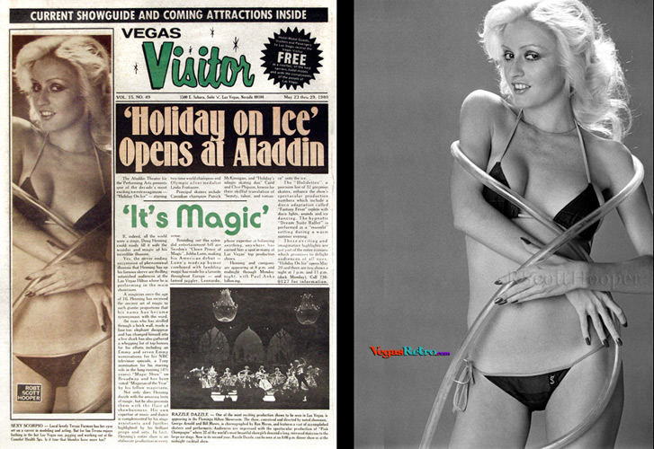 Teresa Furman on the Vegas Visitor cover