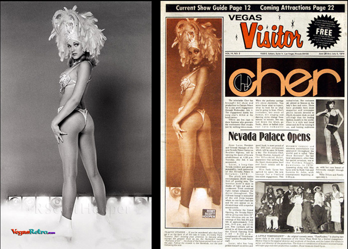 Tracy Vaccaro on the Vegas Visitor cover
