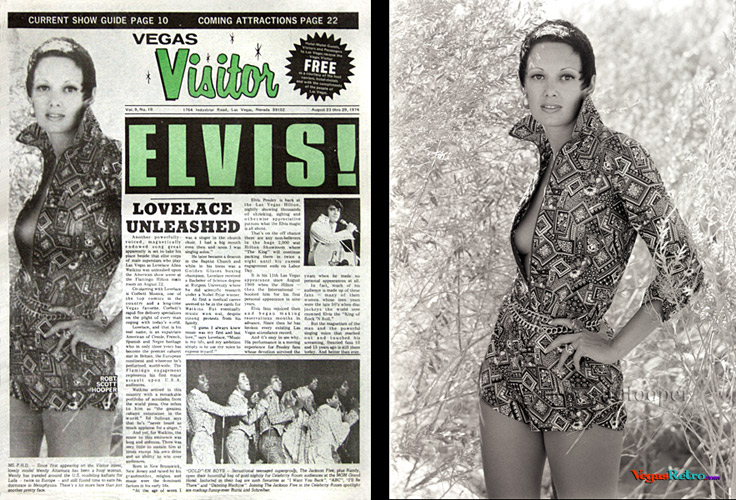 Wendy Altamura photo on the Vegas Visitor cover