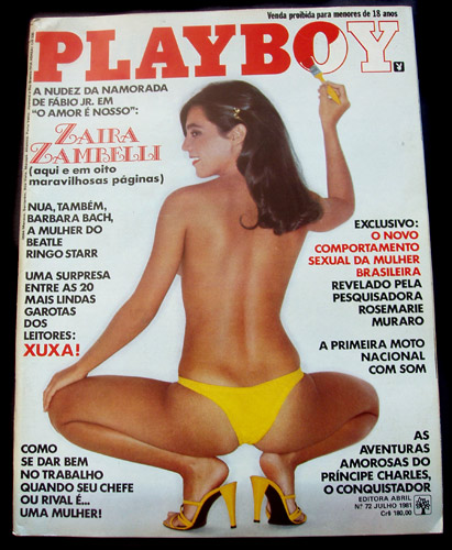 Brazilian Playboy July 1981