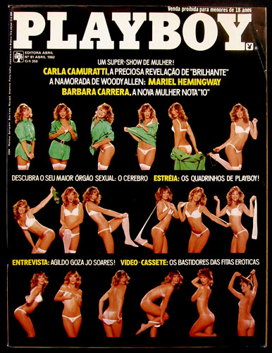 Brazilian Playboy April 1982