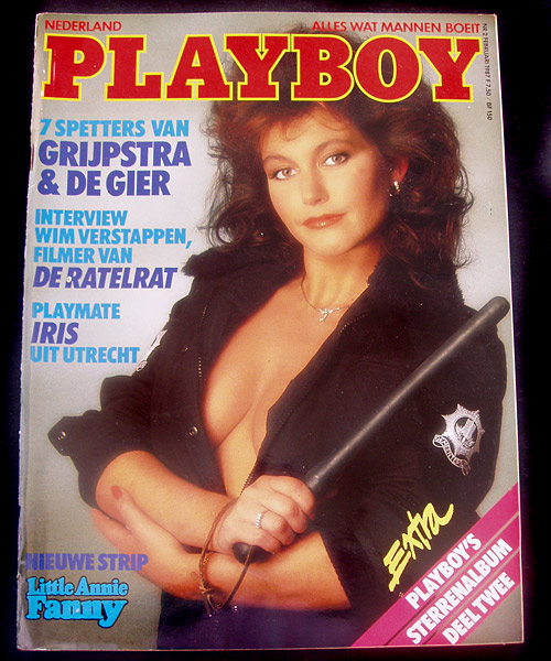 Dutch Playboy Febuary 1987