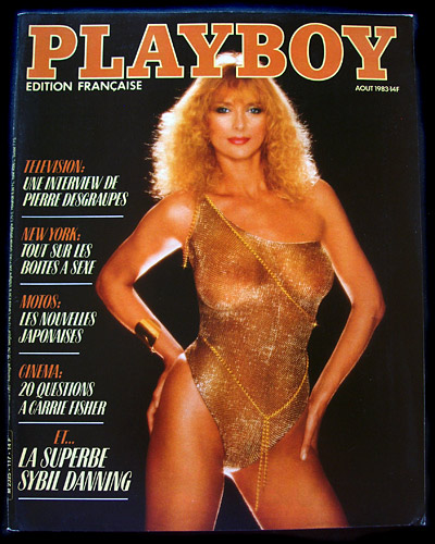 French Playboy August 1983