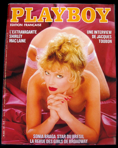 French Playboy October 1984