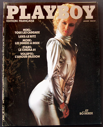 French Playboy January 1982