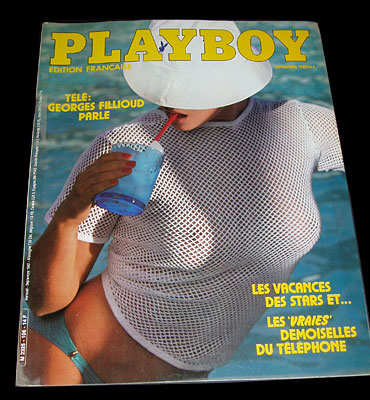 French Playboy Septembre 1982