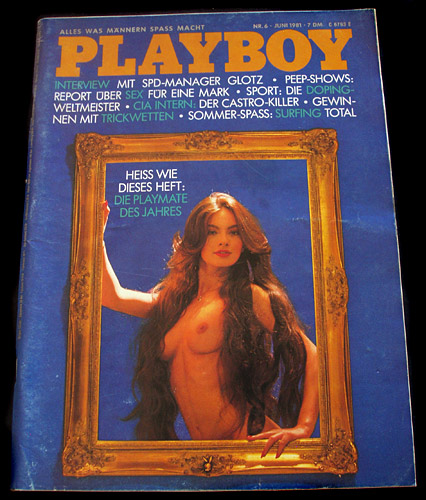 Playboy Germany Juni 1981