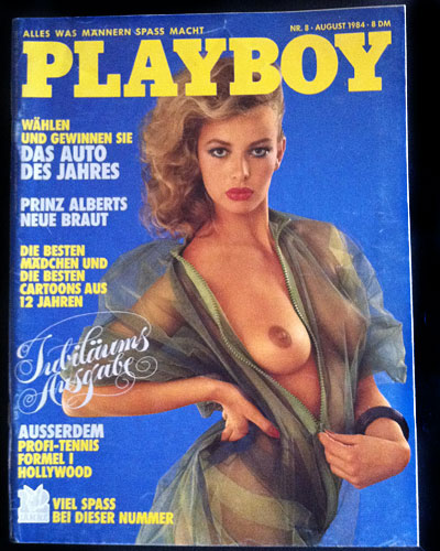 Playboy Germany August 1984