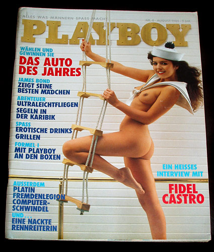 German Playboy August 1985
