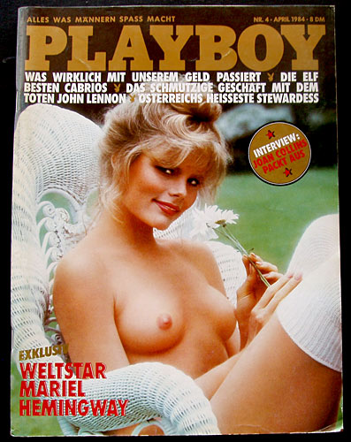 German Playboy April 1984