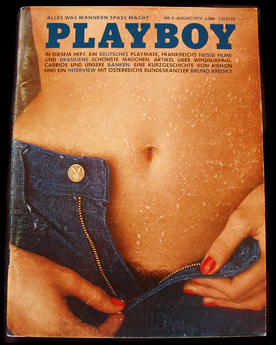 Playboy Germany August 1975