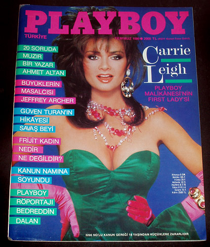 Turkish Playboy Temmuz 1986